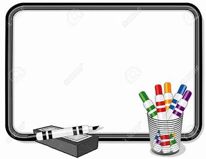 Whiteboard Marker Clipart Pens Background Powerpoint Cliparts