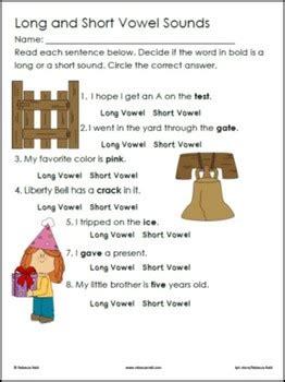 long  short vowels practice games  worksheets