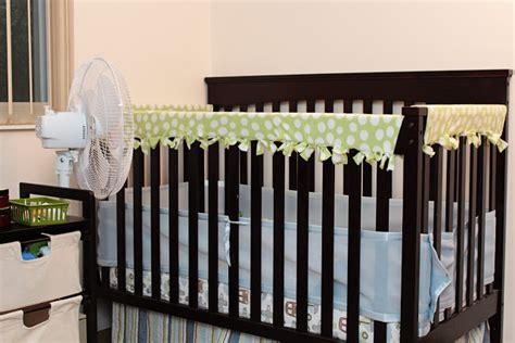 diy crib rail cover diy fleece crib rail guard the wallflower