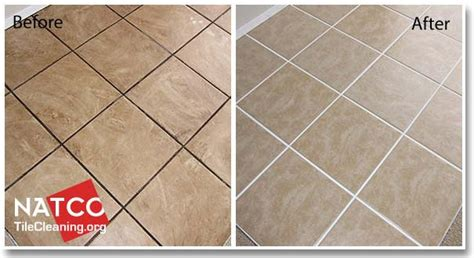 what is best way to clean grout on tile floors tile