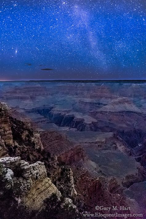 starry night mather point grand canyon eloquent images
