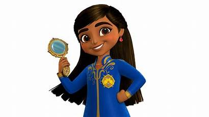 Disney Animated Series Royal Detective Mira Asian