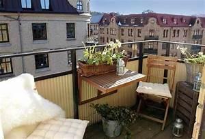 Kleiner Balkon Ideen : balkonideen die ihnen inspirierende gestaltungsideen geben ~ Lizthompson.info Haus und Dekorationen