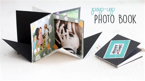 Diy Popup Photo Book Youtube