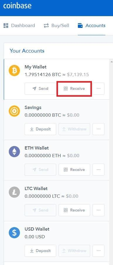 You can also click all assets near the top to choose a different cryptocurrency. A Quick Guide to Receiving and Sending Bitcoin | CoinCentral