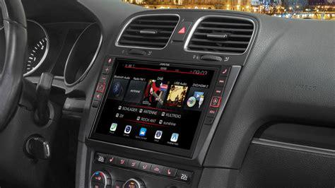 golf 6 navi 9 zoll premium infotainment system f 252 r volkswagen golf 6 mit navigationssystem apple carplay