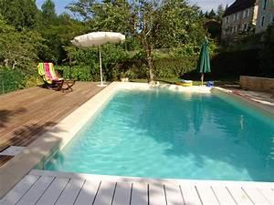 Piscine Enterrée Rectangulaire : piscine de jardin images et photos arts et voyages ~ Farleysfitness.com Idées de Décoration