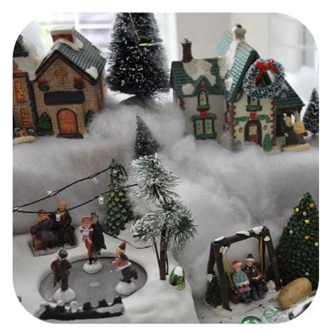 diy christmas village great tips  set   village