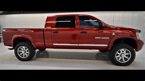 2006 Dodge Ram 2500 Mega Cab Diesel Lifted Truck For Sale
