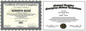 Nremt Paramedic Education Kenneth Buzo Rn Eportfolio