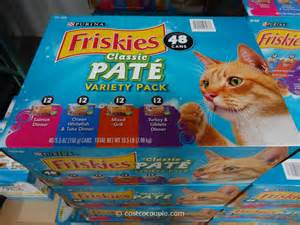 costco cat food purina friskies classic pate variety pack