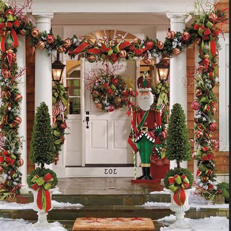 outdoor decorating ideas for christmas decorazilla