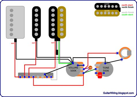 Humbucker Wire Diagram by The Guitar Wiring Diagrams And Tips Ibanez Rg With