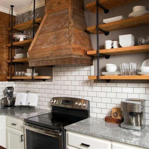 cuisine contemporaine en bois massif cuisine industrielle l 39 élégance brute en 82 photos
