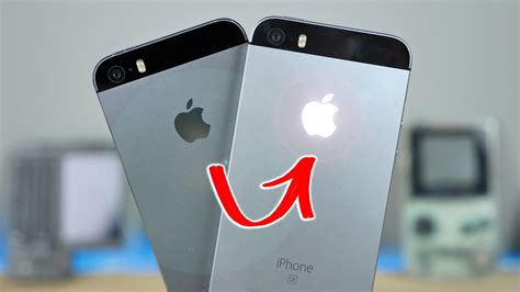 how to make the apple symbol on iphone glowing apple logo on iphone se youtube How T