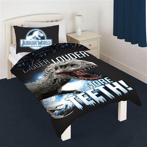 dinosaur duvet cover set kids bedding junior single