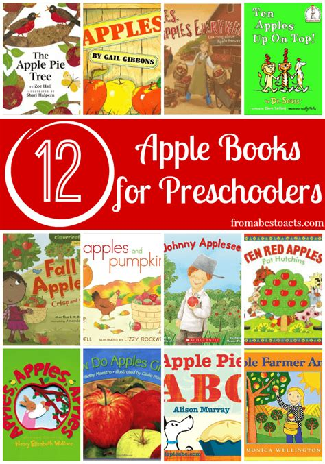 a is for apple preschool theme from abcs to acts 777 | Books About Apples for Preschoolers