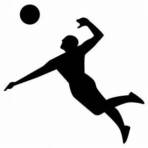 Spiking Volleyball Clipart | www.pixshark.com - Images ...