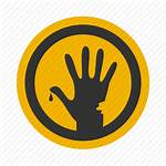 Horror Icon Hand Halloween Fingers Icons Finger
