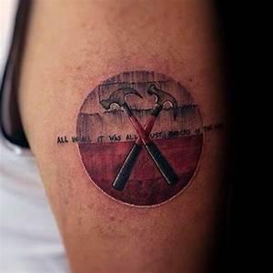80 Pink Floyd Tattoos For Men - Rock Band Design Ideas