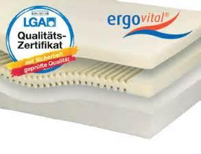 Matratze Für Bauchschläfer : ergovital matratzen zu top preisen online kaufen ~ Frokenaadalensverden.com Haus und Dekorationen