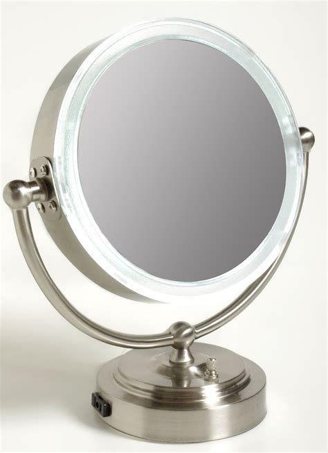 Lighted Magnifying Makeup Mirror by Lighted Magnifying Makeup Mirror 15x Home Design Ideas