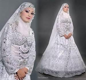 dar laroussa bridal collection wedding inspirasi With muslim wedding dress with hijab