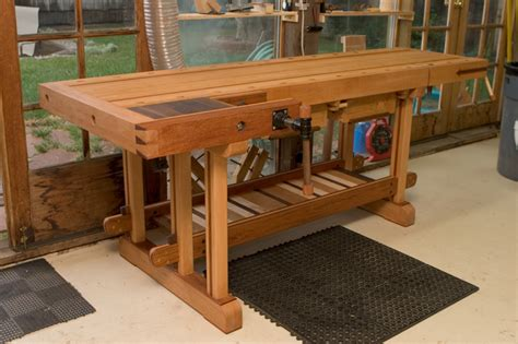 petes scandinavian style bench finewoodworking