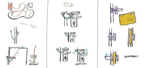 how to unlock door how to open a door chain lock or bar latch from the