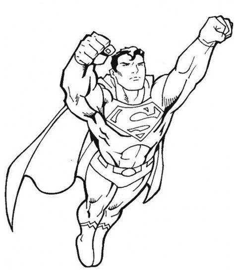 supereroi da stare e colorare superman da colorare