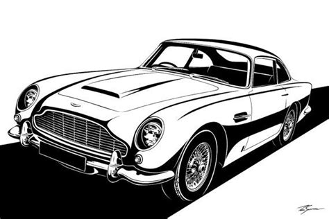 aston martin db stylization choose  sizes par