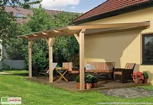 Construire Pergola Bois : comment construire une pergola en bois brut pour le jardin memes ~ Preciouscoupons.com Idées de Décoration