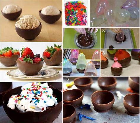 how to make chocolate bowls sweet chocolate bowls dessert alldaychic