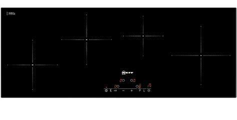 Neff T45D90X2 90cm Wide Slimline Touch Control Four Zone