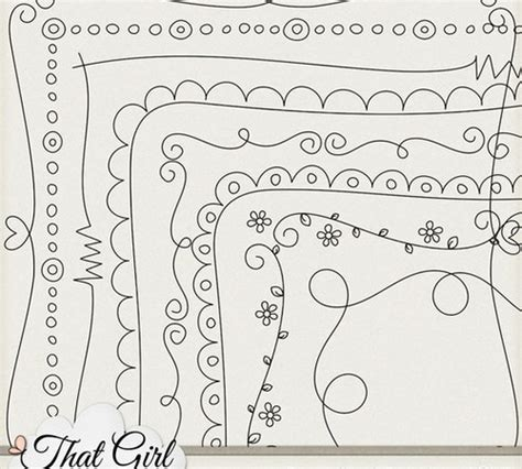 drawing borders designs images cool border design