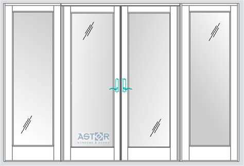 PGT Impact French Doors FD101 and FD750   Astor Impact