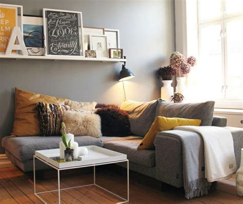 deco avec canapé gris décoration salon avec canape gris