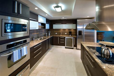 kitchen island stove one barbados the penthouse suite at one