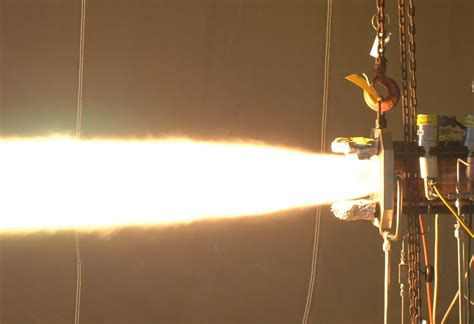 Aerojet Rocketdyne Hot-Fire Tests Additive Manufactured ...