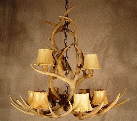 elk antler lighting fixtures light fixtures design ideas
