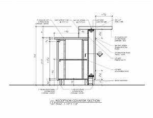 Image result for bar counter detail drawing Reception