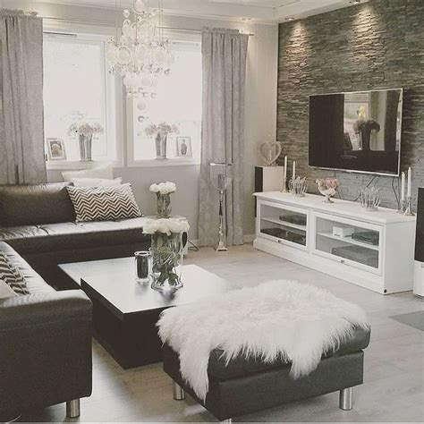 And Black Living Room Decorations by Home Decor Inspiration Sur Instagram Black And White