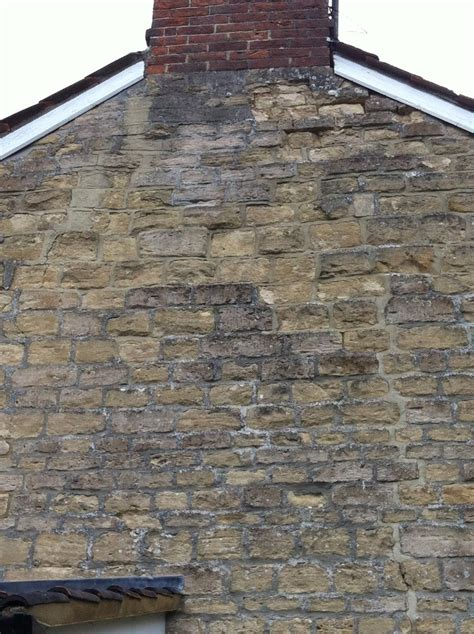 rebuild gable wall section crack stitching  render