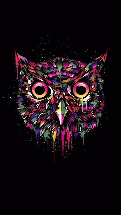 Owl Phone Wallpapers by Pin By Prenatt On Amoled In 2019 Owl Wallpaper Owl