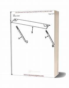 Cub Cadet Parts Manual For Model 124