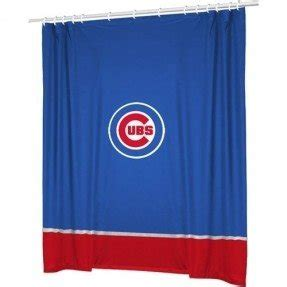 chicago cubs shower curtain foter