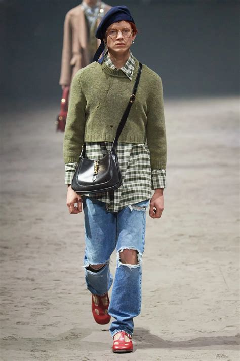gucci fall menswear collection vogue