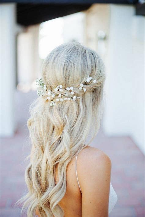 trending wedding hairstyles  flowers   day