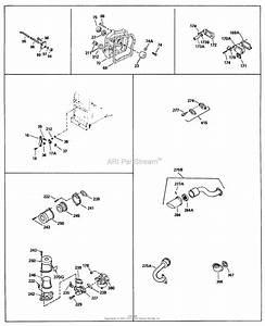Briggs Stratton 4 Cycle Engine Diagram