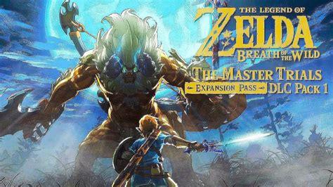 Dlc Zelda Breath Of The Wild Review Zelda Breath Of The Wild The Master Trials Dlc